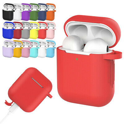 $ CDN1.39 • Buy Airpods Case 2 & 1 2019 Newest Airpod Full Protective Silicone Skin Cases Cover