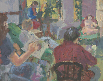 St. Ives School Contemporary Oil - Life Drawing Class • 110.48£