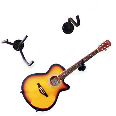$ CDN42.13 • Buy MoonEmbassy Electric Guitar Wall Hanger Hook Rack Stand Bass Holder Acoustic
