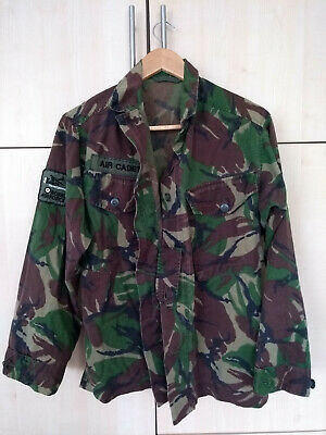 British Royal Airforce Air Cadets Camouflage Jacket. Size 170-88 Approx 22 Inche • 26.95£