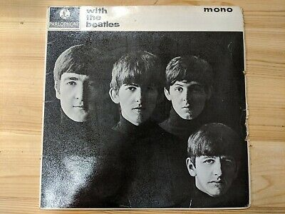 £24.99 • Buy Parlophone Pmc 1206 12  33rpm '63 The Beatles  With The Beatles  -7n/-7n Kt Ex