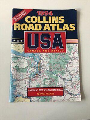 Collins Road Atlas: USA, Canada And Mexico: 1994, , Used; Good Book • 8.99£