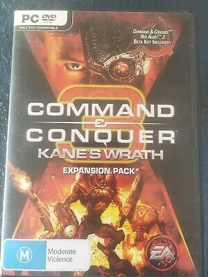 AU19.95 • Buy Command & Conquer Kane's Wrath PC DVDrom Game