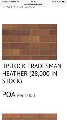 House Bricks Ibstock Tradesman Heather • 650£