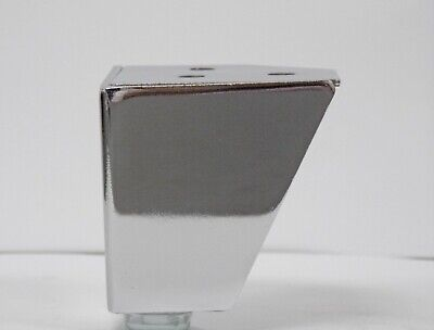 £12 • Buy Pack Of 4 Chrome Metal Feet For Sofa's, Chairs Etc