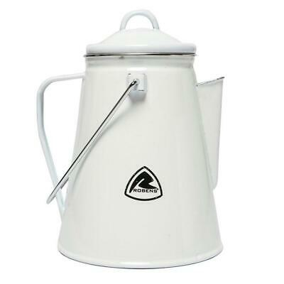 £17.99 • Buy New Robens Tongass Enamel Camping Kettle Camping Cooking Equipment