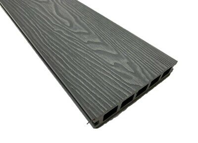 £275 • Buy Grey Coloured WPC Composite Decking 3.6m Boards + All Fixings/Edgings Included