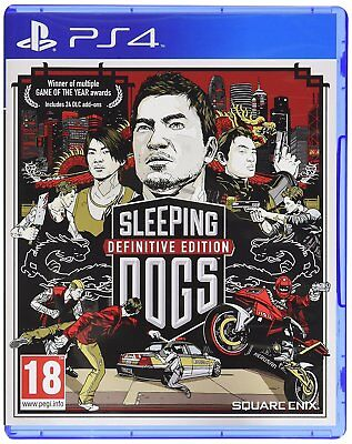 £17.99 • Buy Sleeping Dogs Definitive Edition For PS4 (New & Sealed)