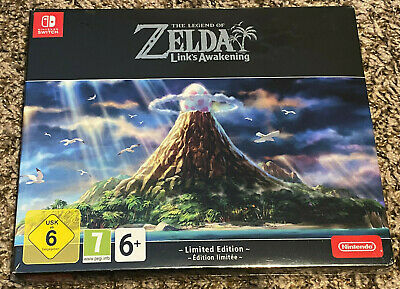 Legend Of Zelda: Link's Awakening Europe Limited Edition Nintendo Switch SEALED • 119.99$