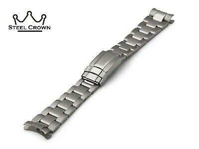 20mm Oyster For Rolex Watch Metal Steel Bracelet Strap Band Silver Submariner • 37.50£