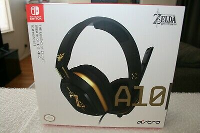 ASTRO A10 Legend Of Zelda Wired Stereo Gaming Headset For Nintendo Switch Or PC • 34.95$