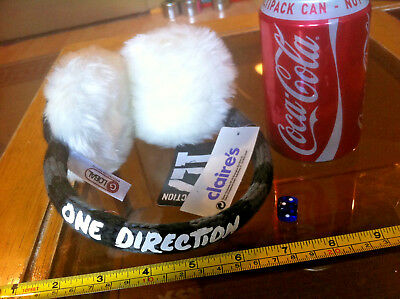 £7.51 • Buy Ear Muffs 1D One Direction Official Original Claire's Accessories £10 RRP