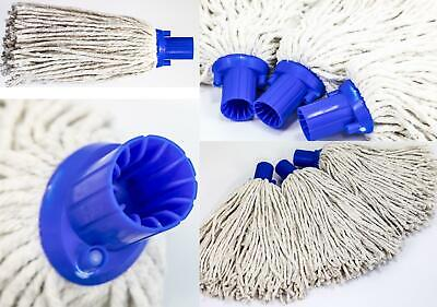 £5.99 • Buy Replacement Cotton Mop Heads Traditional Floor Mop Head Pack Of 3