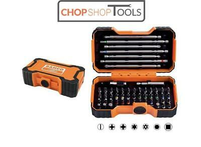 BAHCO 54 Piece Pozi,Phillips,Hex,Tx,Screwdriver Bits & Magnetic Holder, 59/S54BC • 15.80£