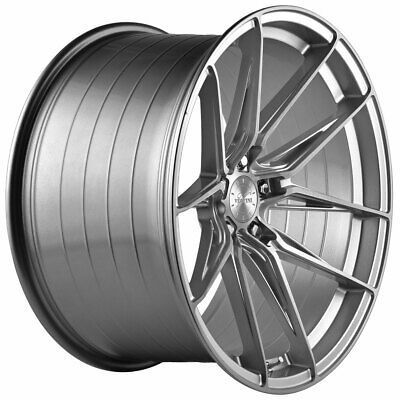 $1520 • Buy 20  Vertini RFS1.8 Silver 20x9 Forged Concave Wheels Rims Fits Jaguar S-Type