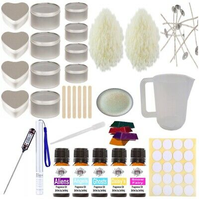 £35 • Buy Candle Making Kit - Complete Set Perfume Soy Wax Melt Fragrance Glitter Colour