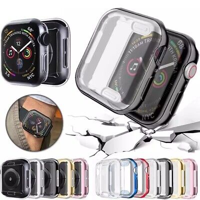 $ CDN4.06 • Buy IWatch Apple Watch Series 4 3 2 1 Tpu Protector Cover Case With Screen 38mm 42mm