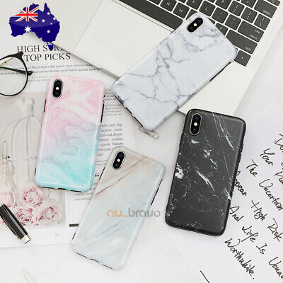 AU6.79 • Buy Soft TPU Case Marble Shockproof Silicone Gel Cover For Apple IPhone XS MAX XR X