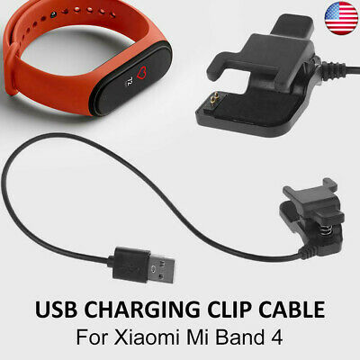 For Xiaomi Mi Band 4 Smart Bracelet USB Clip-on Charging Cable Charger Dock US • 5.39$