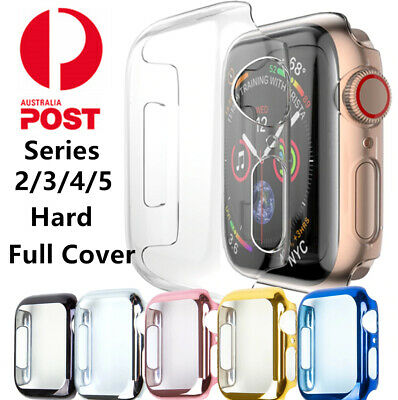 AU6.99 • Buy For Apple Watch Series 65432 38/42 40/44mm IWatch PC Shell Full Cover Case Hard