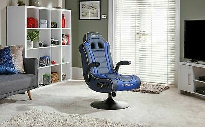 £99.99 • Buy Refurbished X-Rocker Adrenaline VII Gaming Chair-Blue-PS4,PS5 & Xbox One -GB65.