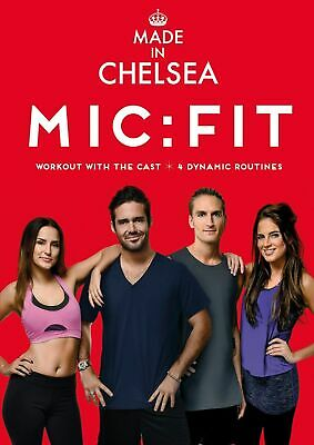 Made In Chelsea: MIC - FIT [DVD] OFFICIAL WORK OUT KEEP FIT Exercise Routine • 2.78£