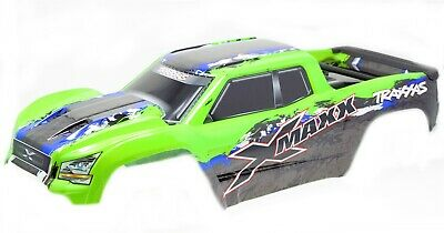 AU181.94 • Buy X-MAXX BODY Cover Shell (LIME Green Painted ProGraphics Shell Traxxas 77086-4
