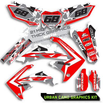 $159.99 • Buy 2002 2003 2004 Honda Crf 450r Graphics Kit Crf450 R Decals Stickers Motocross