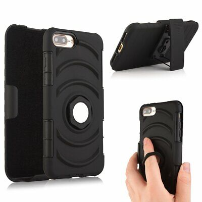AU19.99 • Buy 3 In 1 Multifunction Hybrid Case With Rotation Slide Sleeve For IPhone7/7 Plus