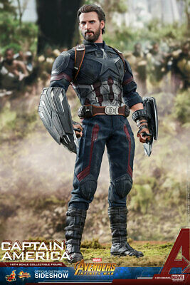 $ CDN713.07 • Buy Hot Toys MMS480 Avengers 3 : Infinity War Captain America Sixth Scale Figure