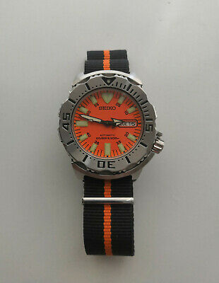 $ CDN724.76 • Buy Seiko Monster Orange SKX781 Japan Automatic Men's Watch Rare First Generation