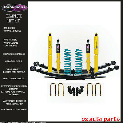 AU1549 • Buy DOBINSONS LIFT KIT For TOYOTA HILUX 2005-2015 2  50mm SUSPENSION KUN26/GGN25 N70