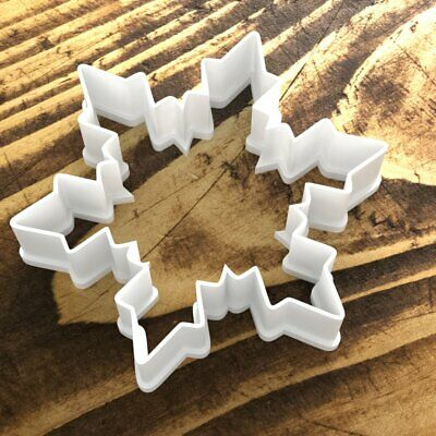 £3.89 • Buy Professional Quality Christmas Snowflake Cookie Cutter Biscuit Dough Cake UK 1