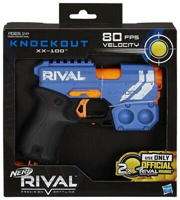 AU37.50 • Buy Nerf Rival ~~~ Knockout XX-100 ~~~~ TEAM BLUE - FAST POST ON HAND AUSSIE STOCK