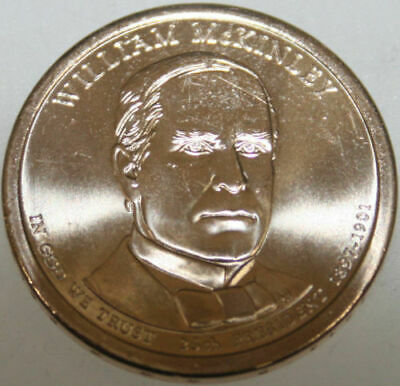 $5 • Buy 2013-P Presidential Dollar Uncirc William McKinley Golden Nice No Problem Coin