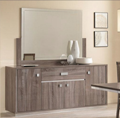 Victoria Italian Dining Room Mirror In Oak, 12 Months 0% Finance Available • 229£