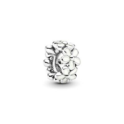 AU29.99 • Buy PANDORA Charm Sterling Silver ALE S925 DARLING DAISY WHITE FLOWER SPACER 791495