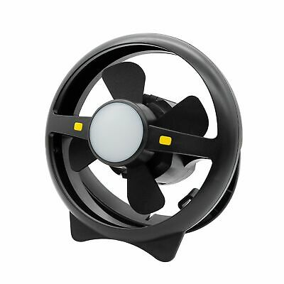 AU49.99 • Buy Arlec Rechargeable 2 Speed Fan And LED Light/up 35h/USB 1AMP Out/Travel/Camping