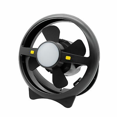 AU69.99 • Buy Arlec Rechargeable 2 Speed Fan And LED Light/up 35h/USB 1AMP Out/Travel/Camping