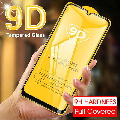 $2.84 • Buy For Xiaomi Redmi Note 8 7 Pro 8T 9D Full Cover Tempered Glass Screen Protector