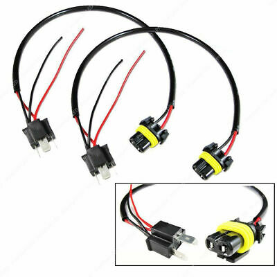 $8.99 • Buy 9006 To H4 Conversion Wires Harness Adapters Sockets Headlight Retrofit HID Kit