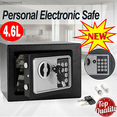 £11.99 • Buy Electronic Password Security Safe Money Cash Deposit Box Office Home Safety Mini