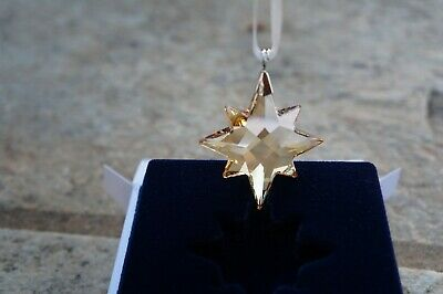 £24 • Buy Swarovski 5498200 GWP STAR Ornament Christmas Bussines Gift Authentic, New