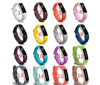 $ CDN5.19 • Buy For Fitbit Alta & Hr Wrist Strap Wristband Replacement Watch Soft Band 5.5-7.5