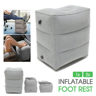 AU14.94 • Buy Inflatable Foot Rest Travel Air Pillow Cushion Office Home Leg Footrest 1/2x