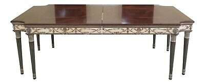 $4595 • Buy L48202EC: EJ VICTOR Newport Paint Decorated Dining Room Table