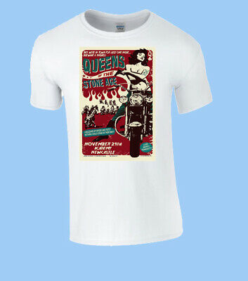 £11.99 • Buy Queens Of The Stone Age Metal Rock T-shirt