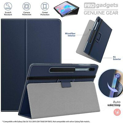 AU36.99 • Buy Genuine MoKo Leather Folio Stand Cover For Samsung Galaxy Tab S6 10.5 T860/865