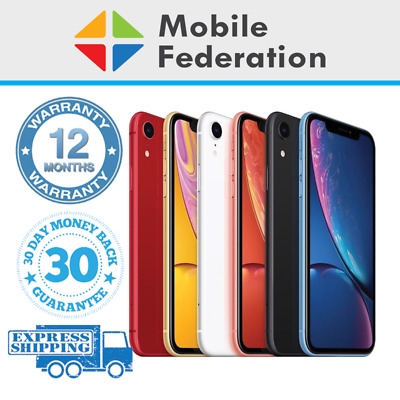 AU469 • Buy Apple IPhone XR A2105 64GB 128GB 256GB Unlocked [AU Stock]