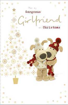 Boofle For My Gorgeous Girlfriend Christmas Greeting Card Cute Xmas Cards • 3.49£